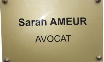 Avocat Sarah Ameur
